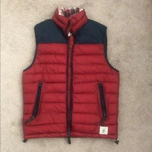 BRAND NEW FLAG & ANTHEM PUFFER VEST